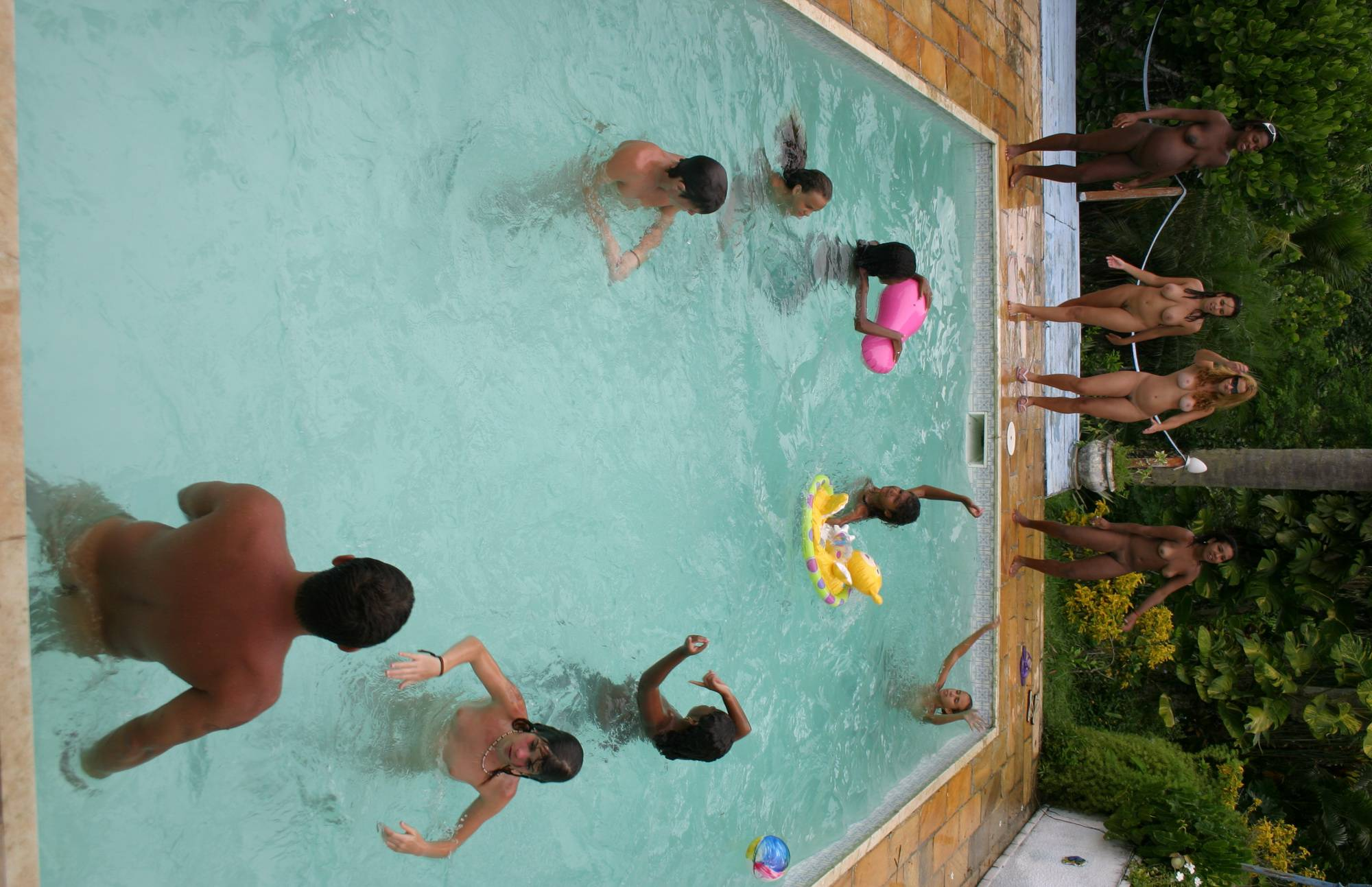 Nudist Pics Naturist Inner-Pool Finale - 1