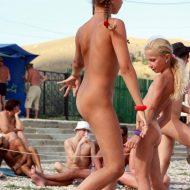 Naturist Sun Beach Strides