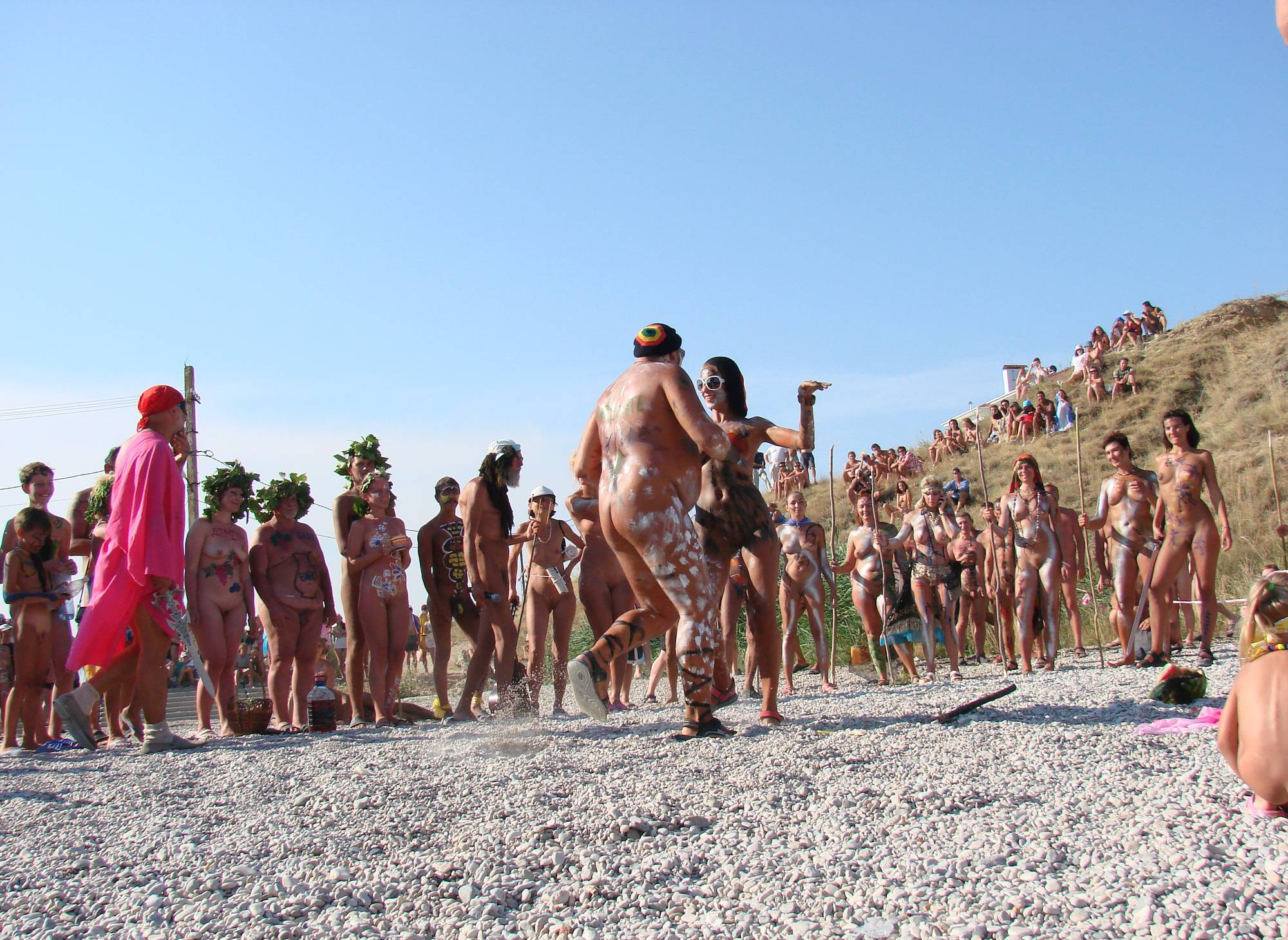 Nudist Pictures Neptune Day Dance Views - 1