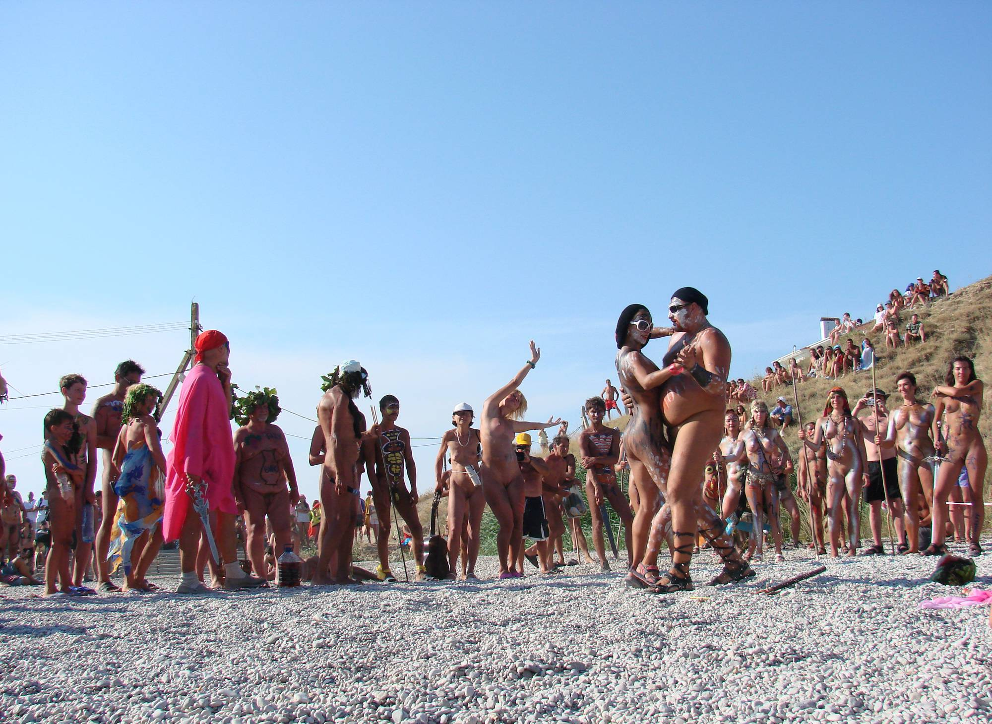 Nudist Pictures Neptune Day Dance Views - 2