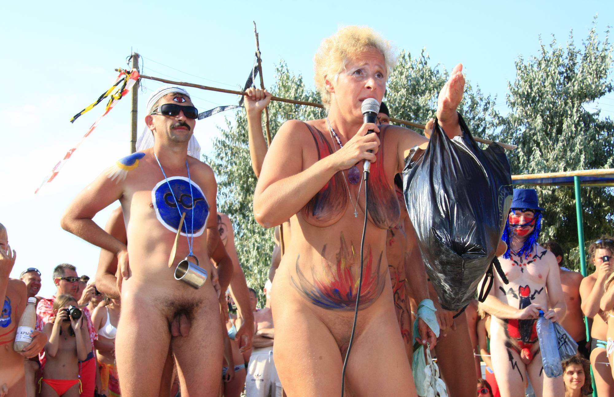 Neptune Nudist Wall Form - 1