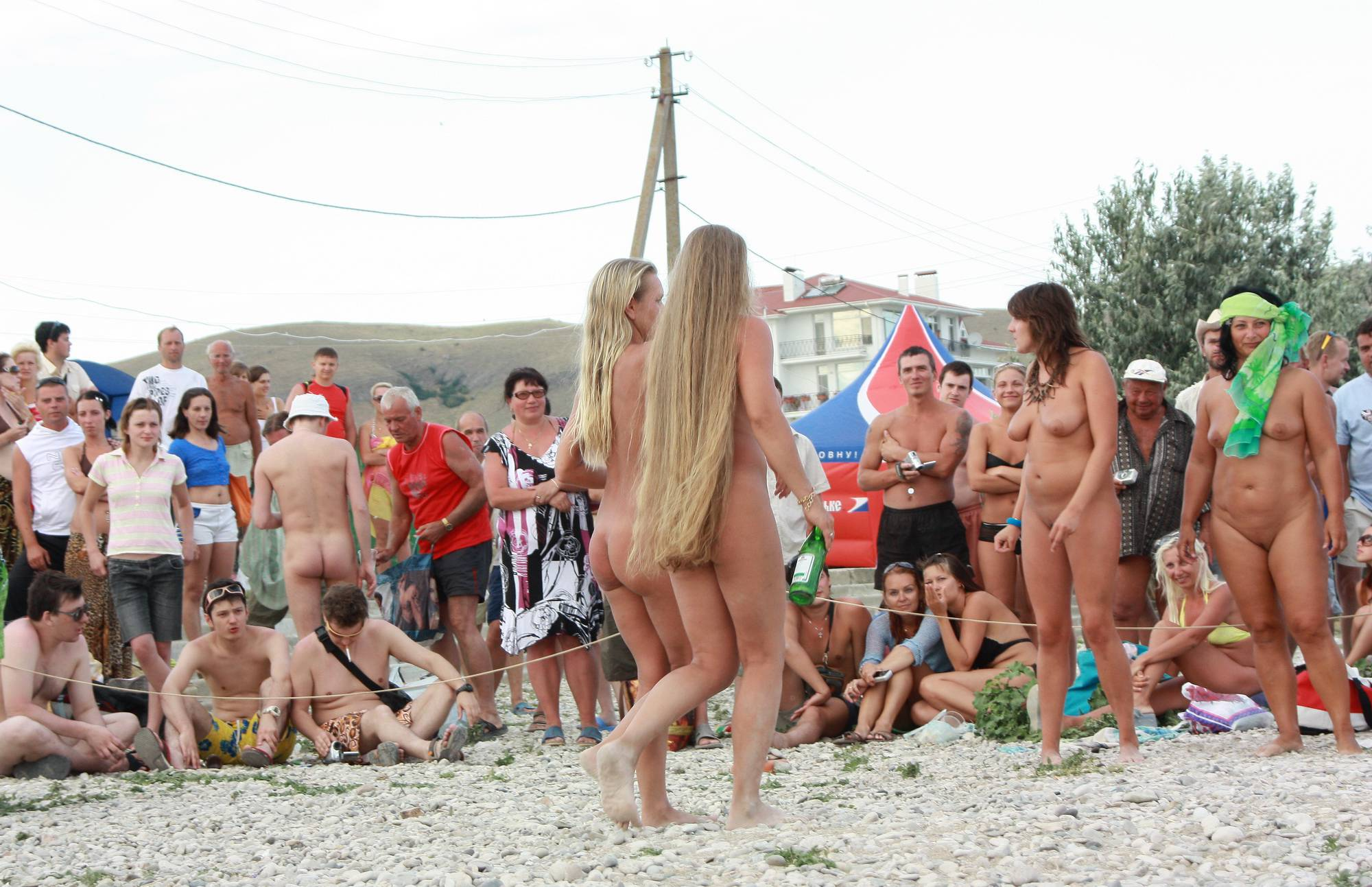 Nudist Photos Neptune Race Preperation - 2