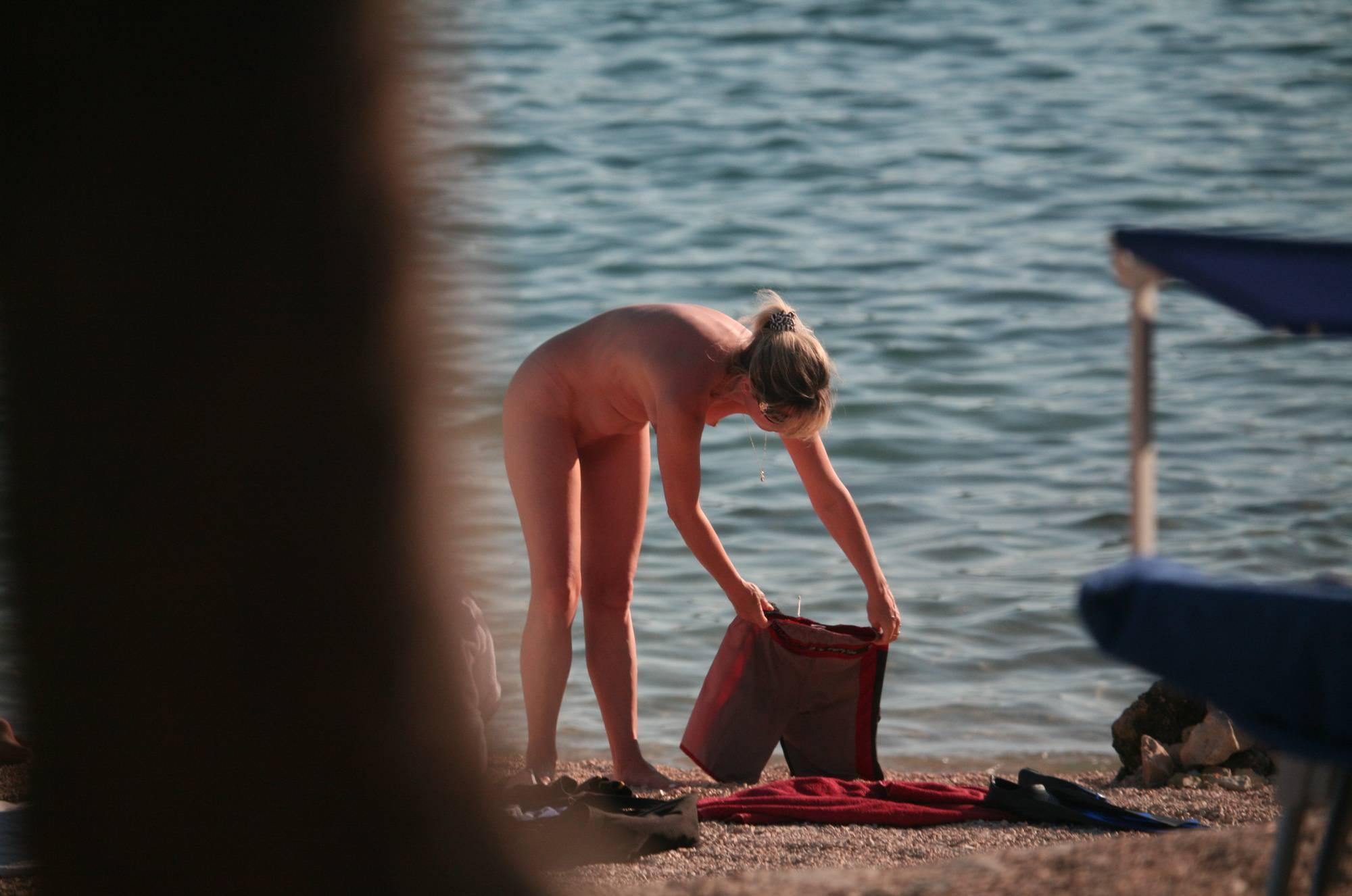 Nora FKK Beach Visitors - 1