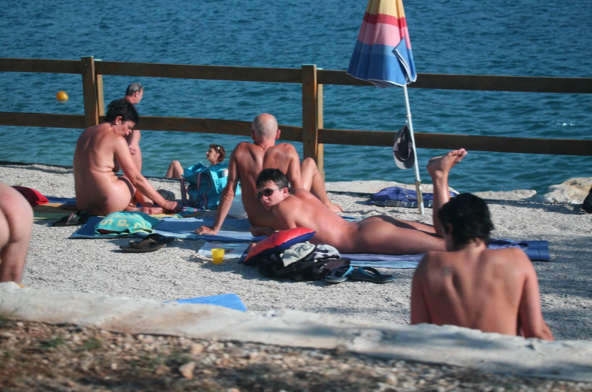 Nudist Pictures Nora FKK Beach Visitors - 2