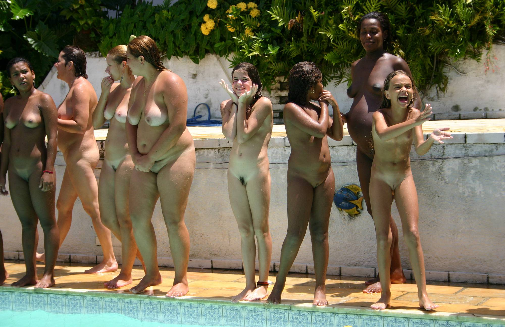 Brazilian Pool Wall Lineup - 2