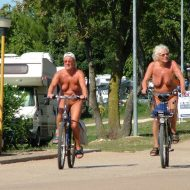 Naturist FKK Day Biking