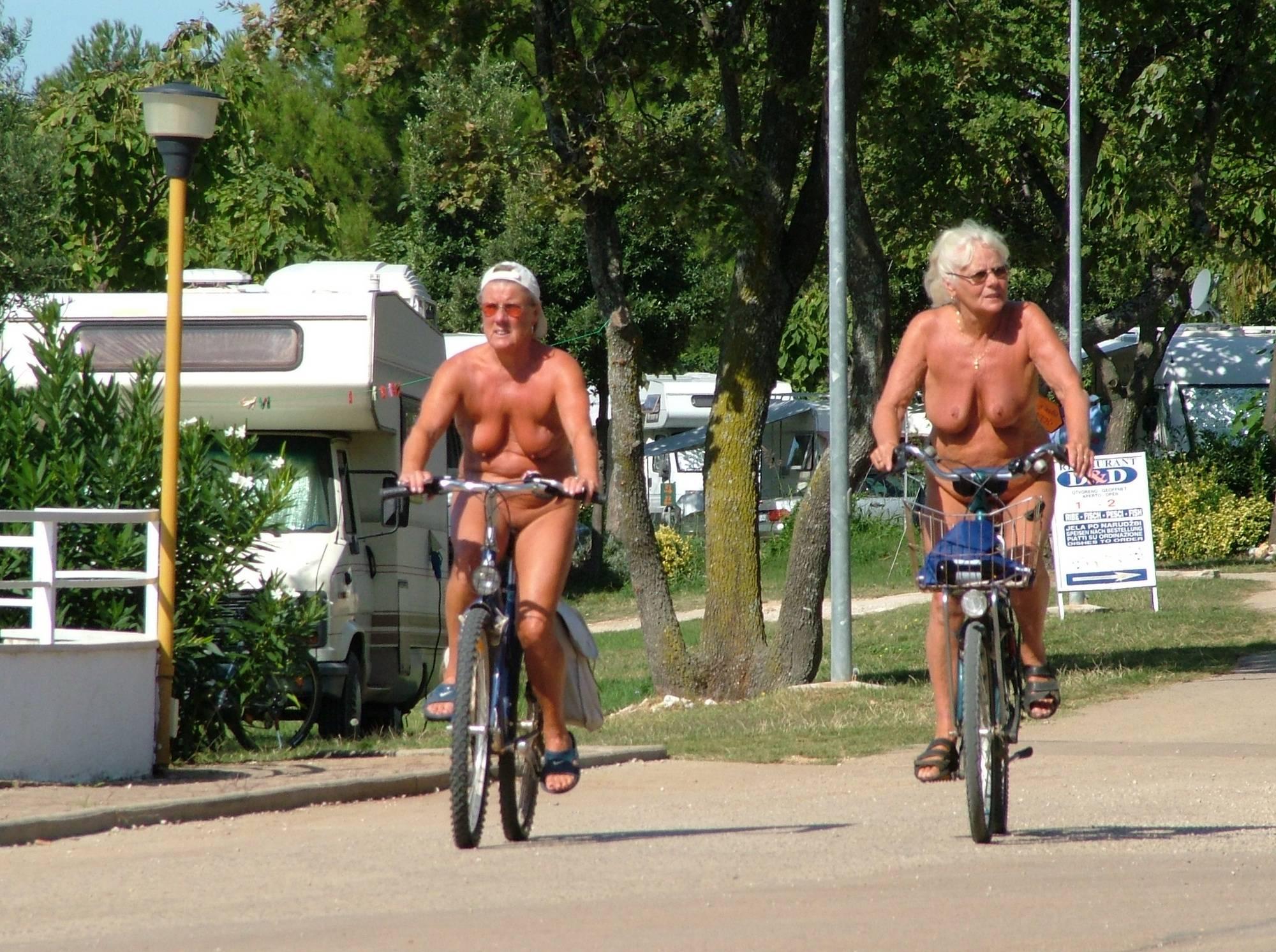 Nudist Photos Naturist FKK Day Biking - 1