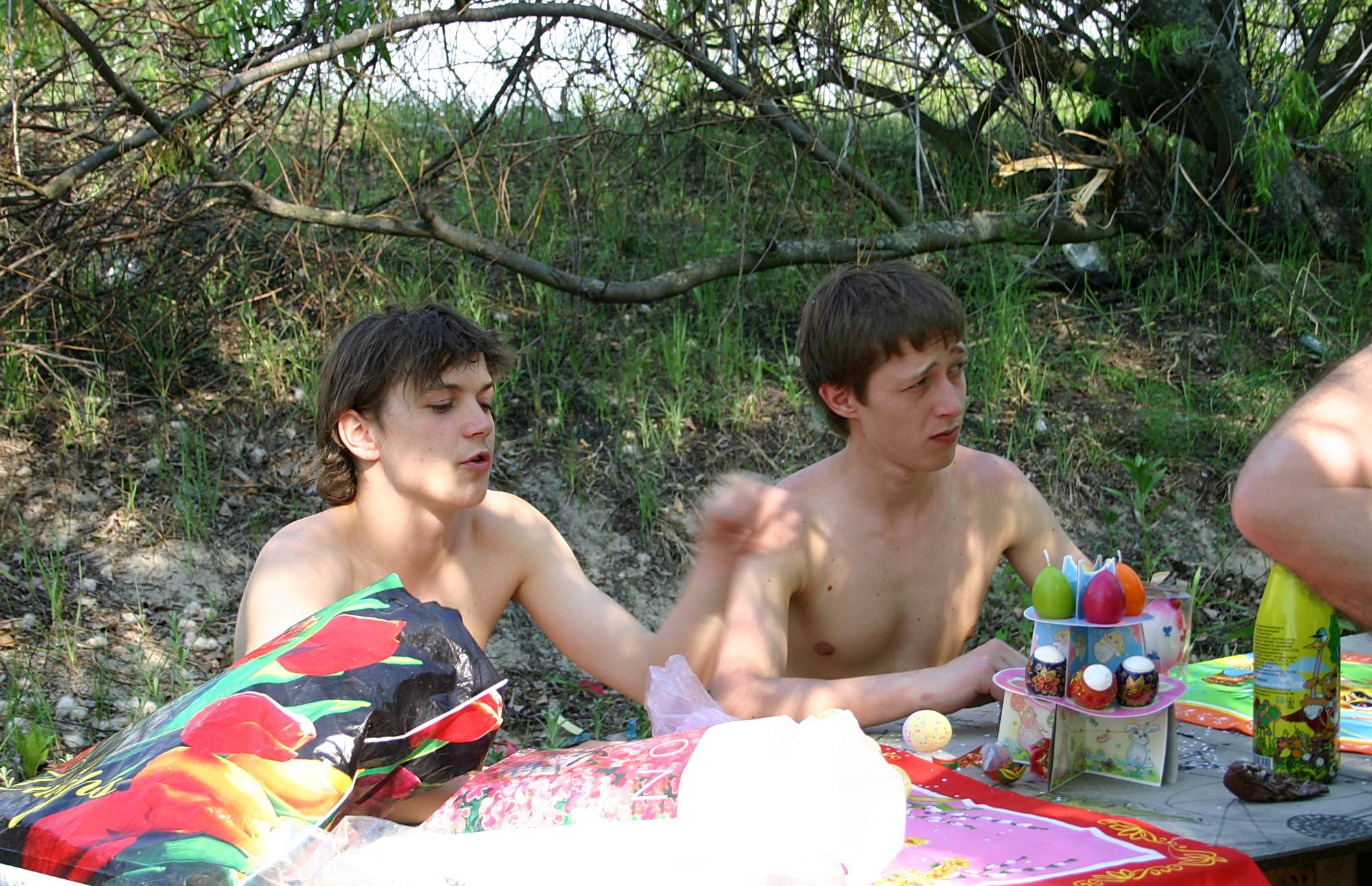 Nudist Gallery Our Sandy Green Picnic - 2