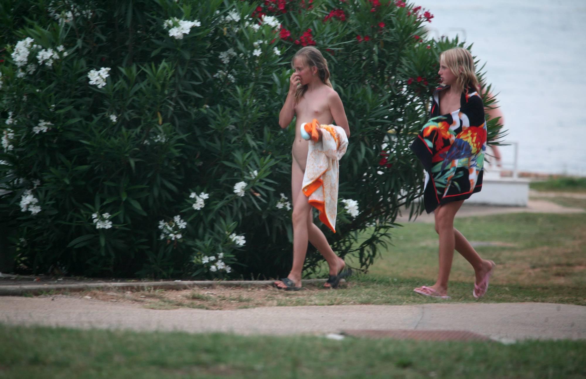 Two Nudist Day Girlfriends - 2