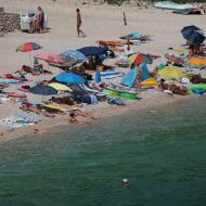 Wide Maslin Beach View