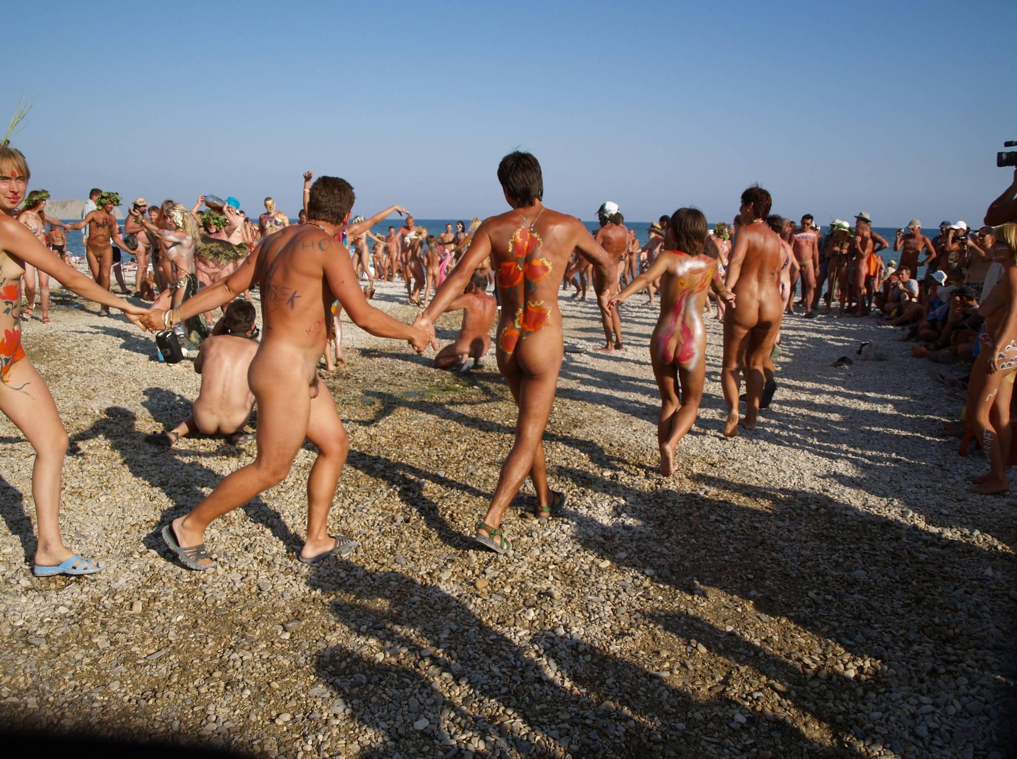 Nudist Gallery Nudist Go-Around Dancing - 2