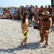 Nudist Mini Interview Walk