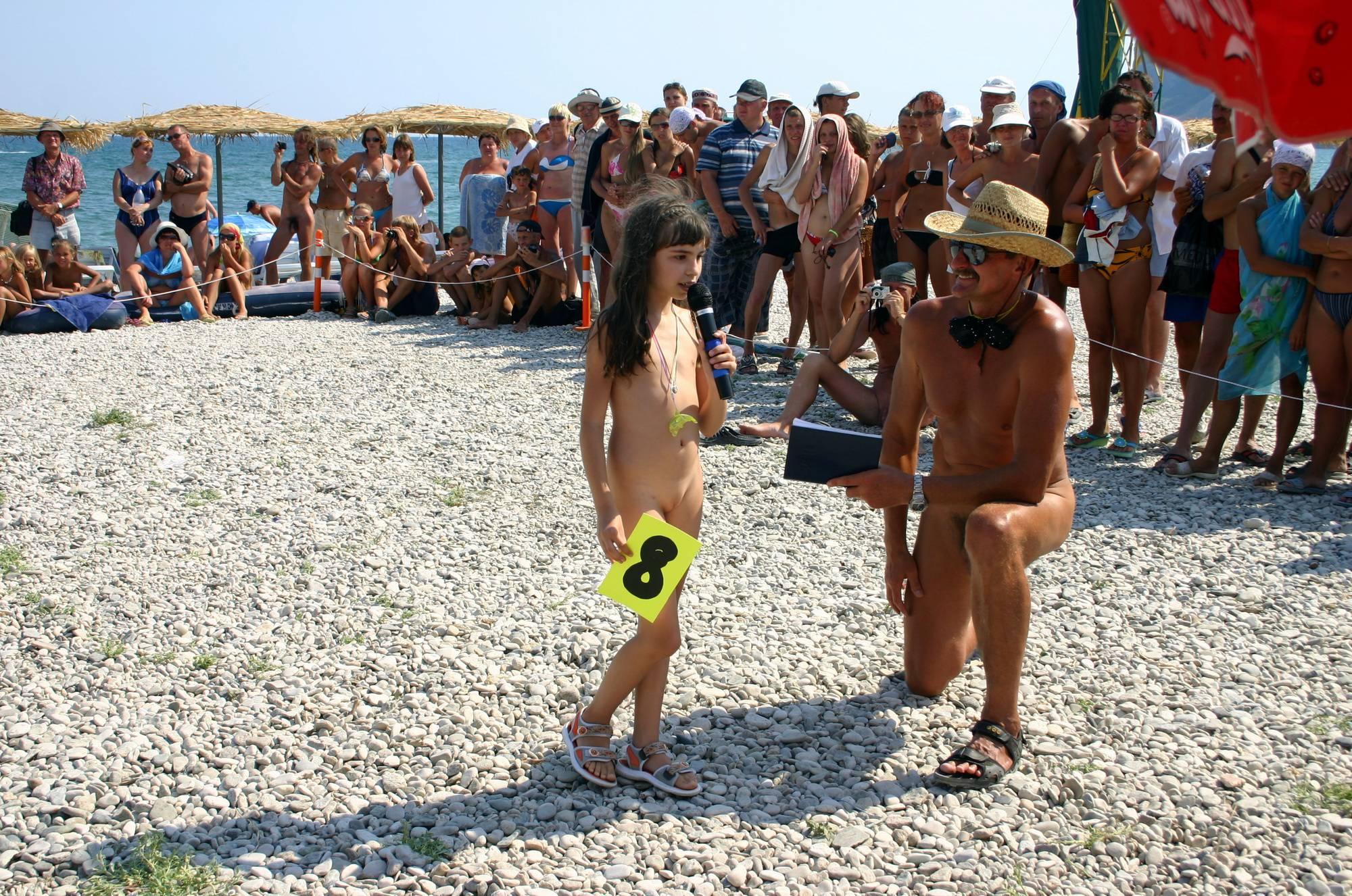 Nudist Mini Interview Walk - 1