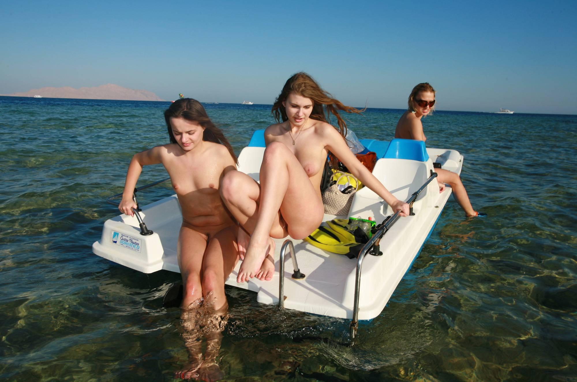 Egyptian Paddle-boat Part - 1