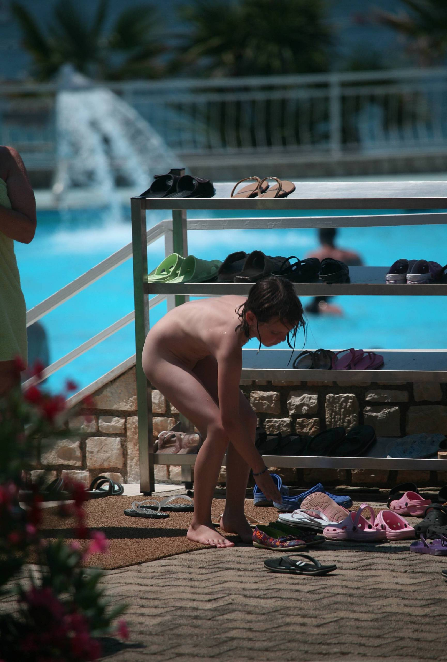 Nudist Photos Nudist Park Child Passing - 2