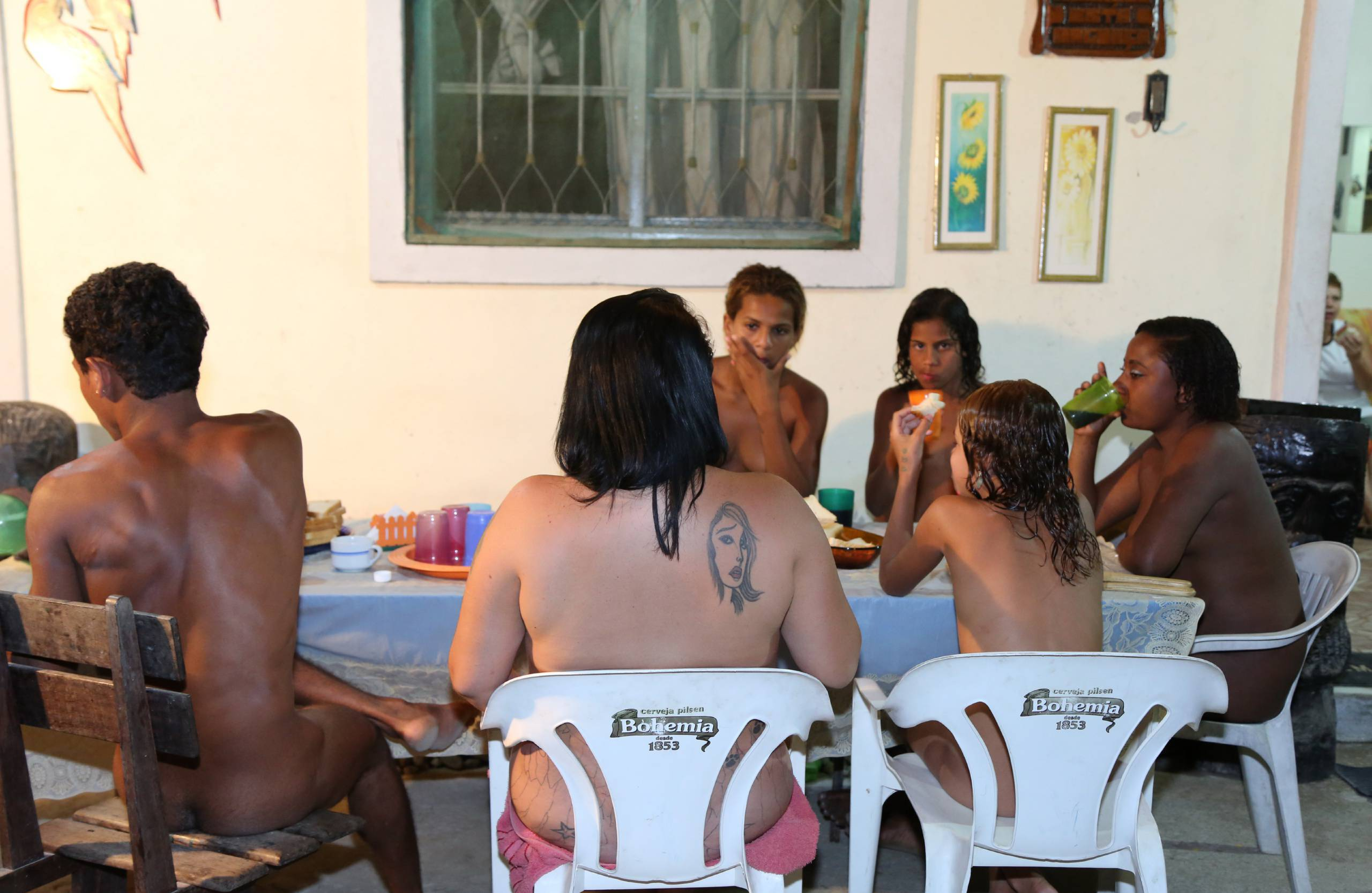 Nudist Gallery A Family Gathering - 1