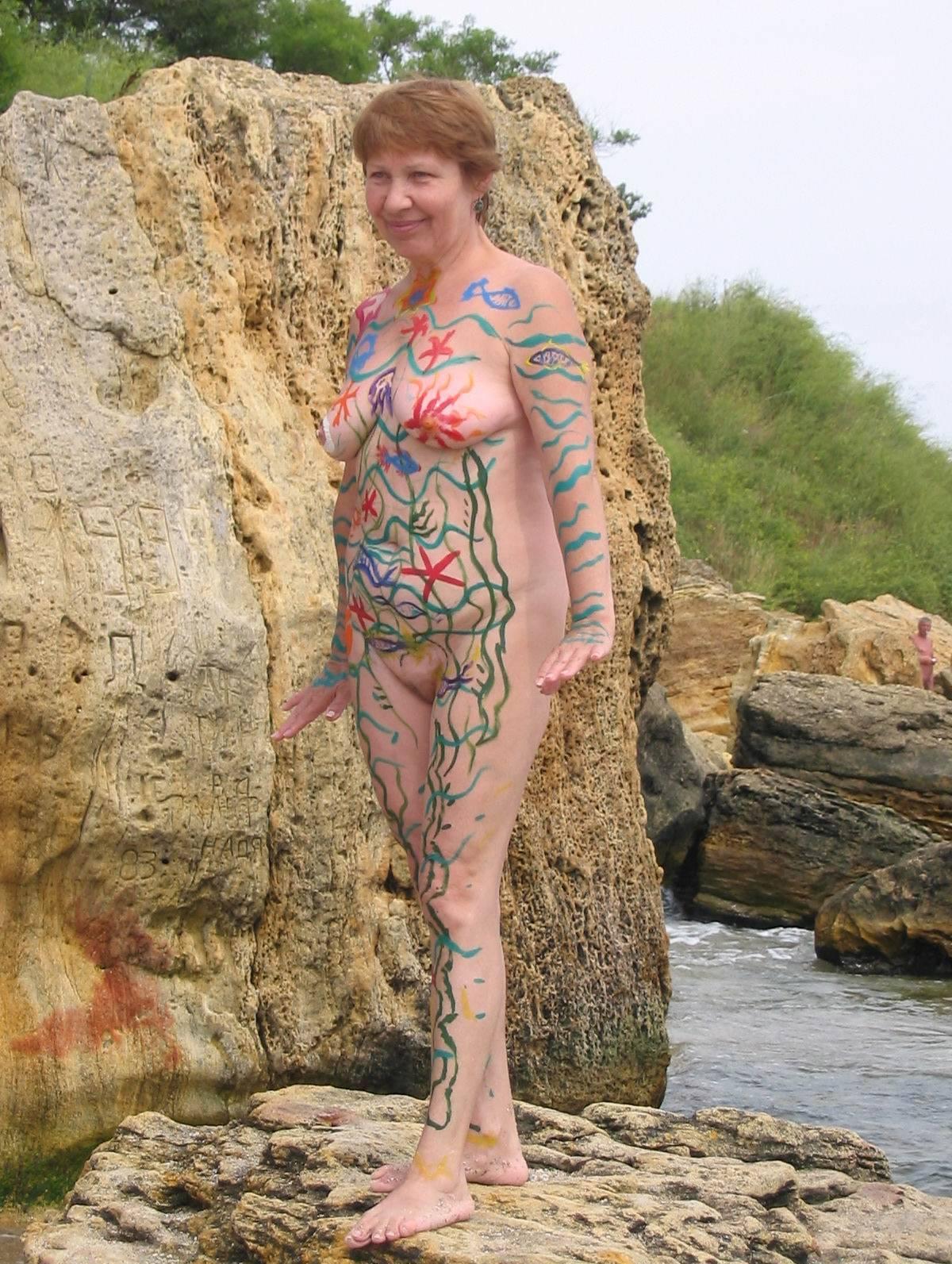 Nudist Pics Adult Shore Rock Profiles - 1