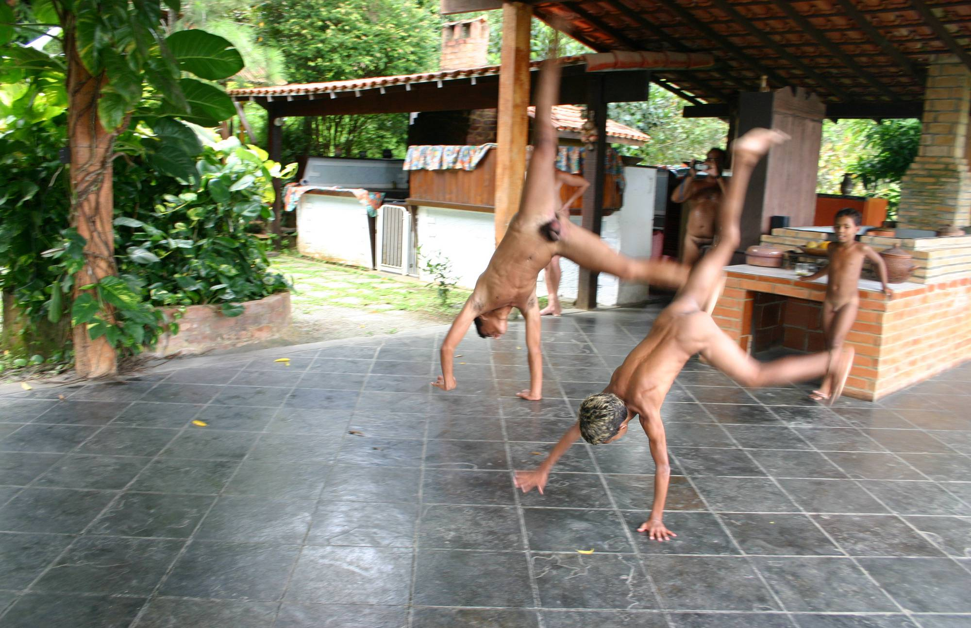 Nudist Photos Brazilian Men Are Dancing - 2