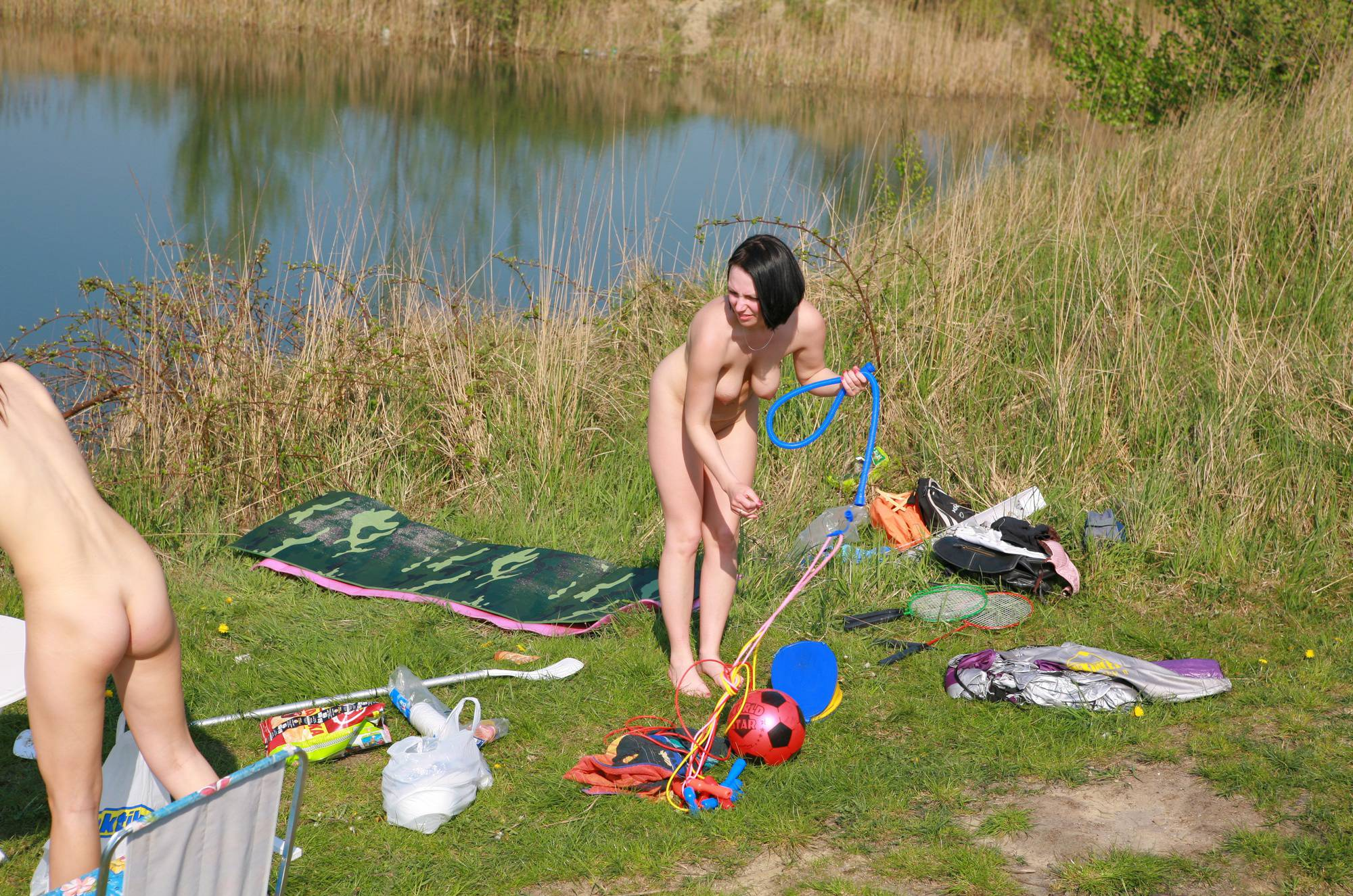 Nudist Pics Lake Brzegi Couple Part - 1