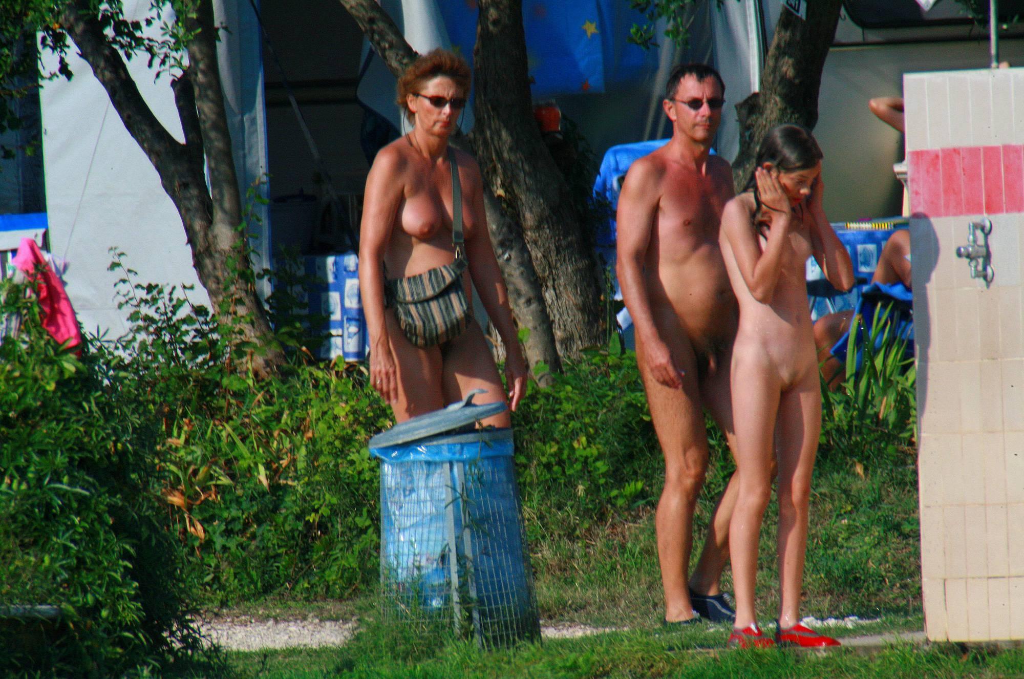 Nudist Pics Ula FKK Boating Family - 1