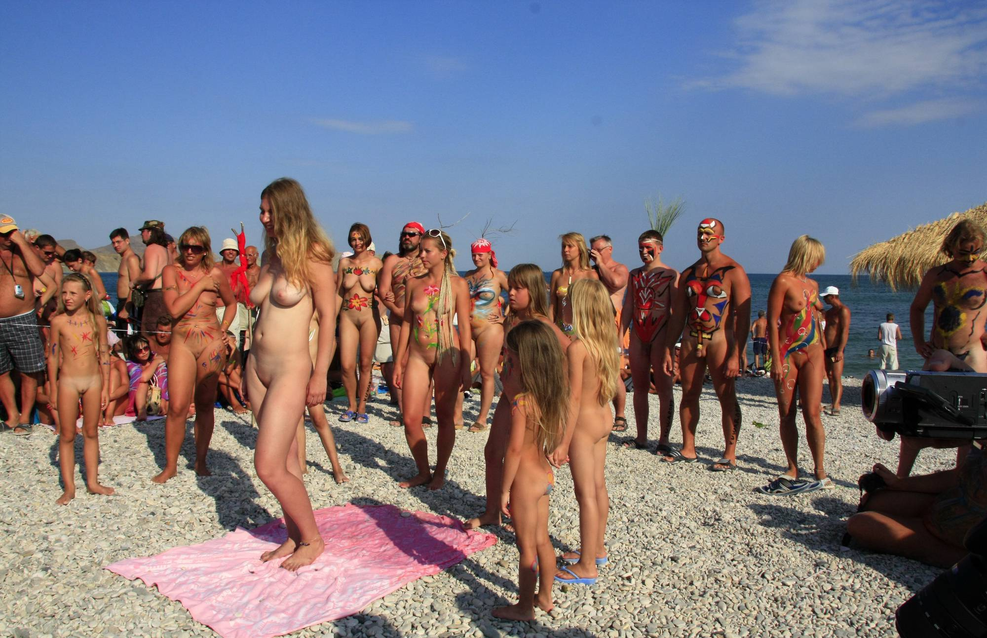 Nudist Pictures Naturist Girls Wall Army - 2