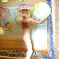 Nudist World Play Posing