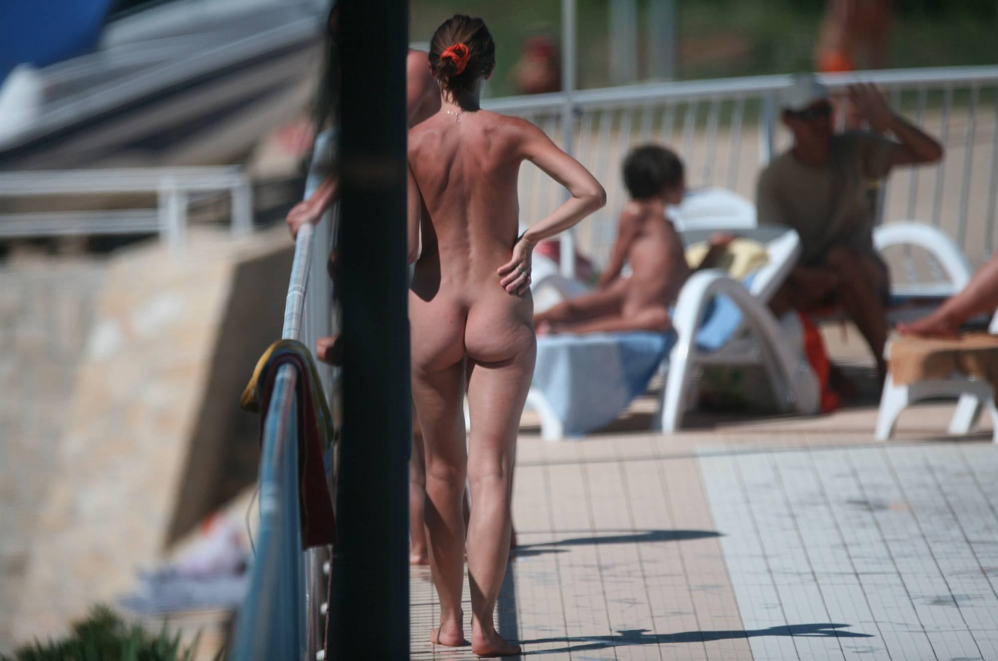 Nudist Pool Walk Around - 2