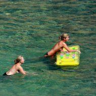 Nudist Yellow Beach Girls