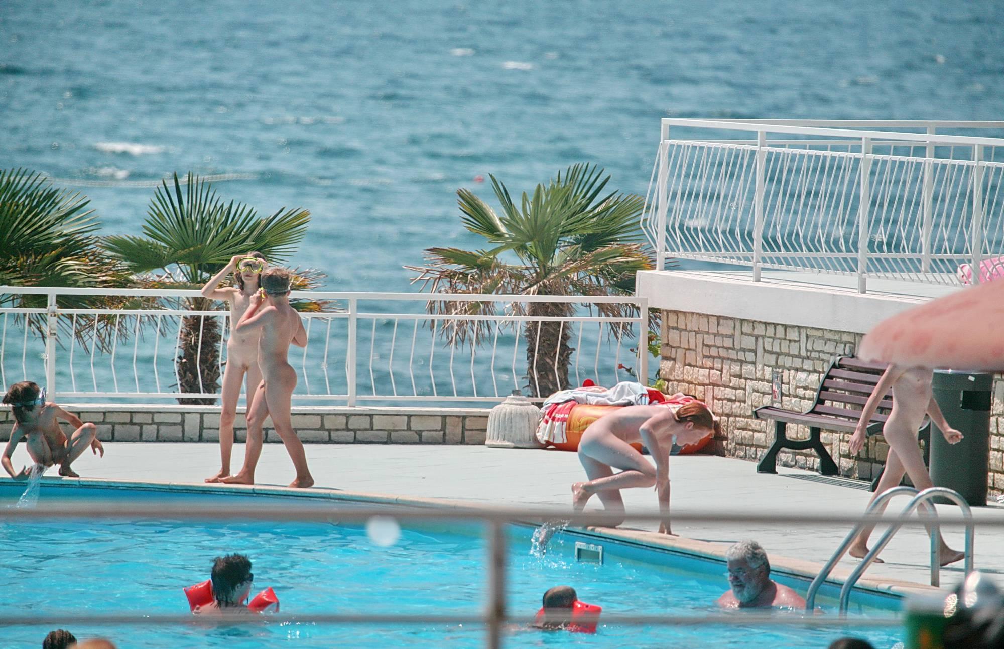 Nudist Pics On Pool Sunny Areas - 2