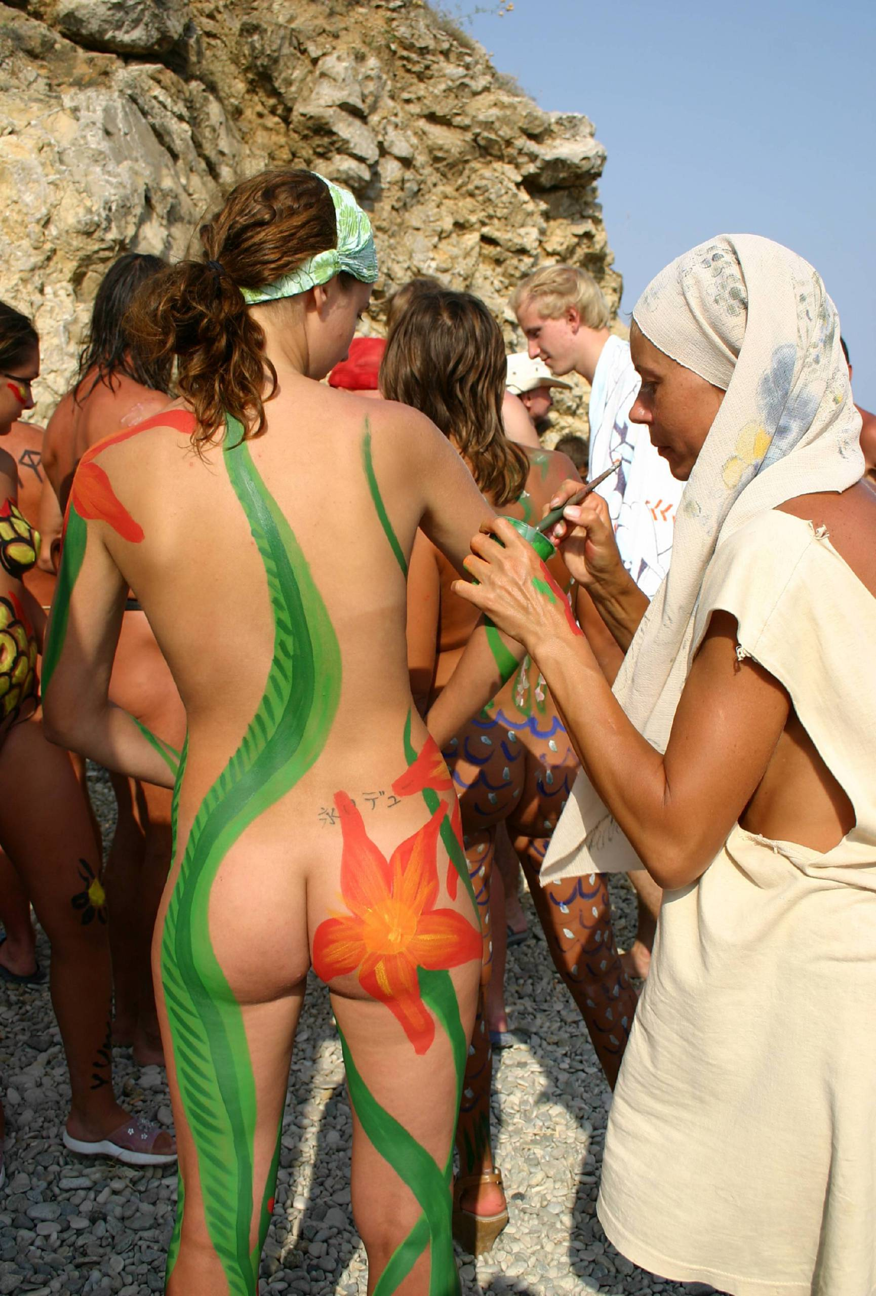 Outdoor Body Painting - 1