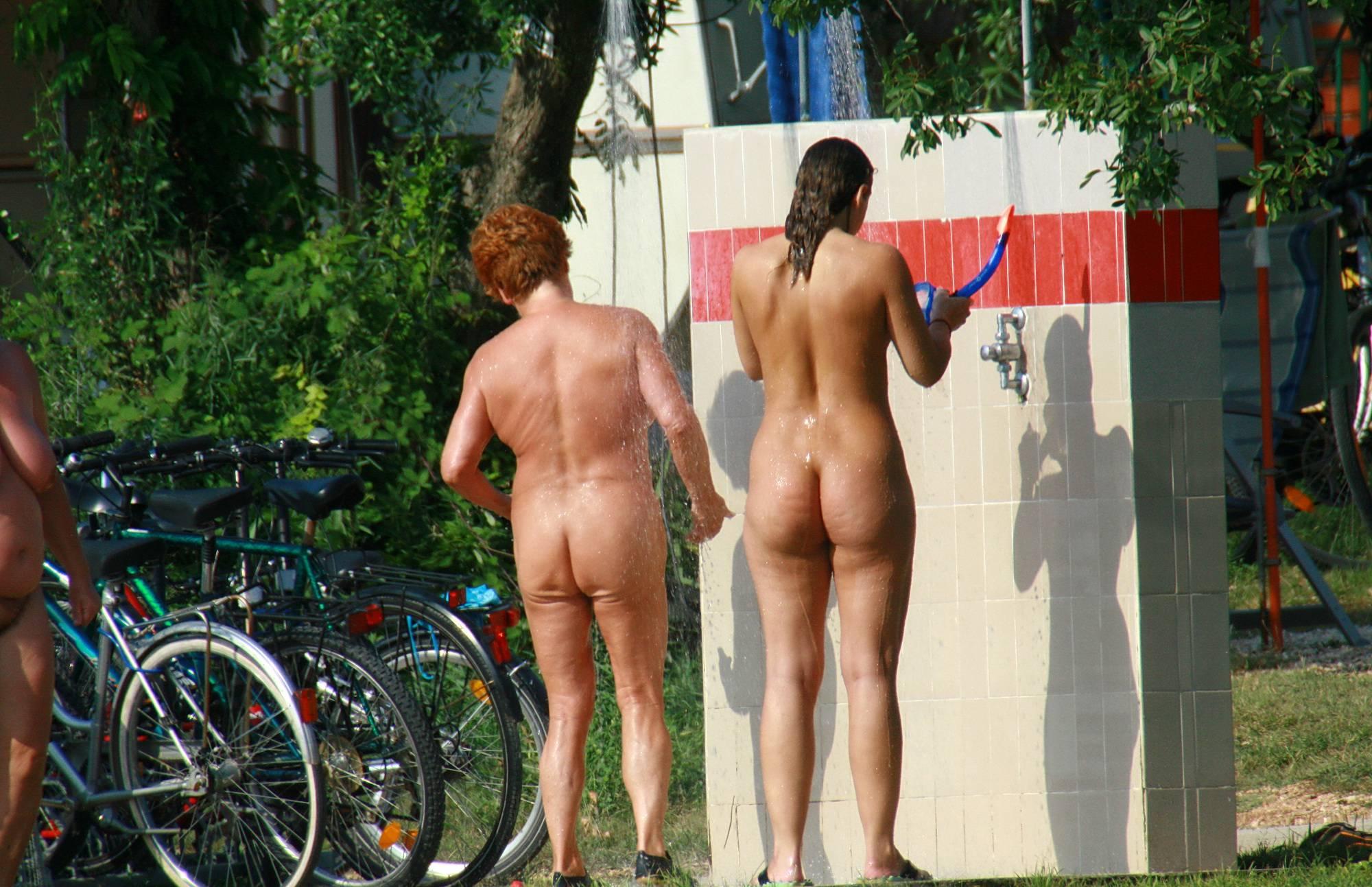 Outdoor Nudist Showers - 2