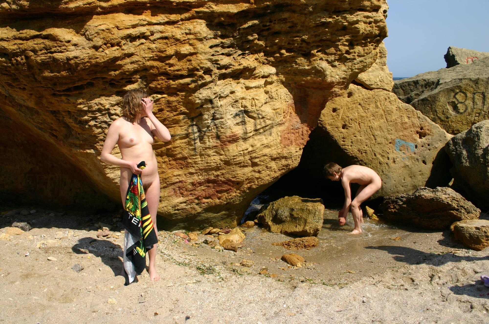 Playing Around the Rocks - 1