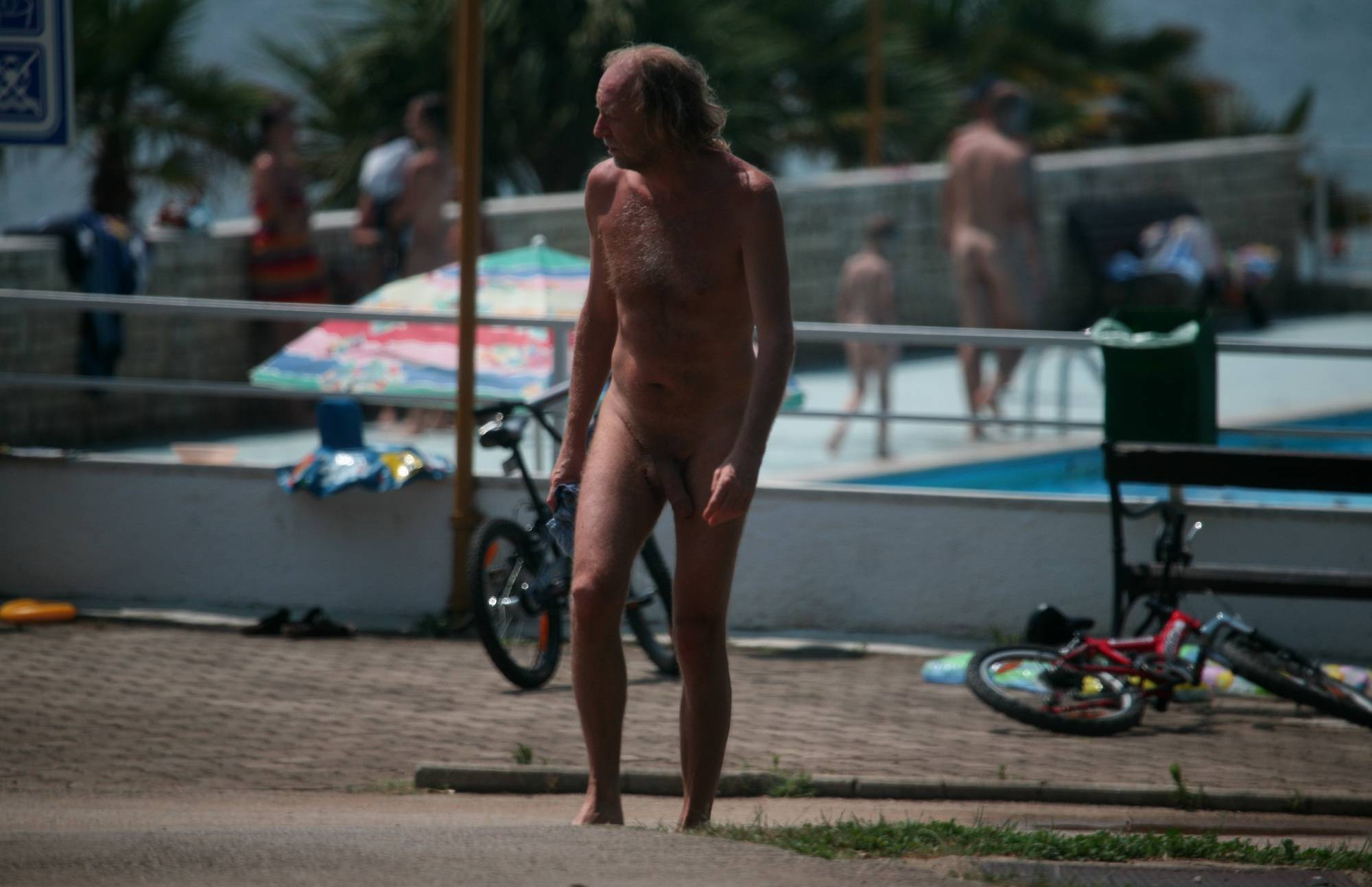 Nudist Pictures Poolside Hustle and Runs - 2