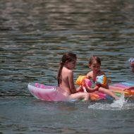 Relax Aboard A Floaty Raft