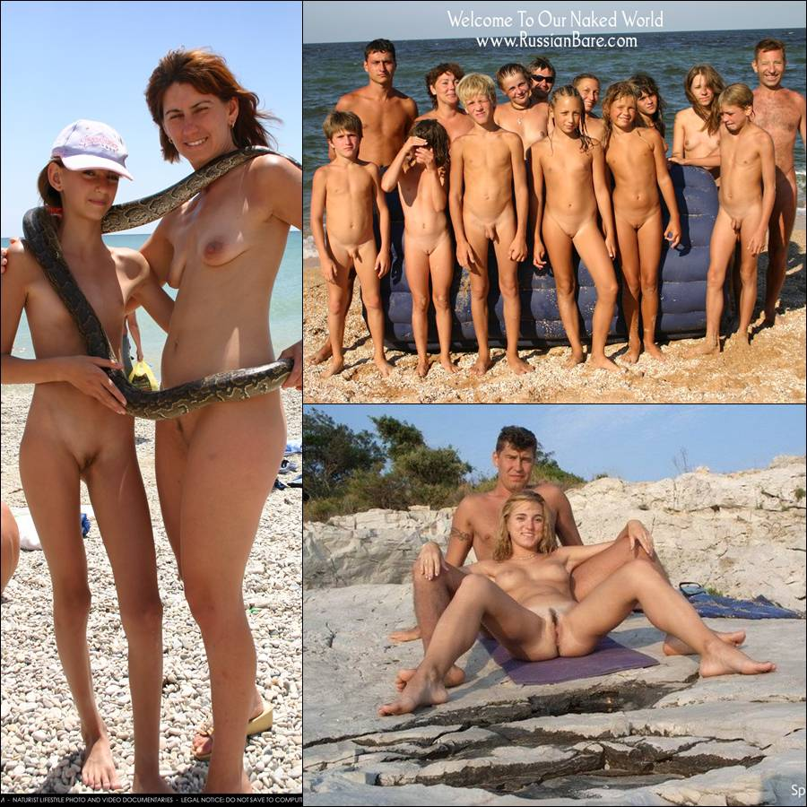 RussianBare Pictures - nude photos family nudism - Poster