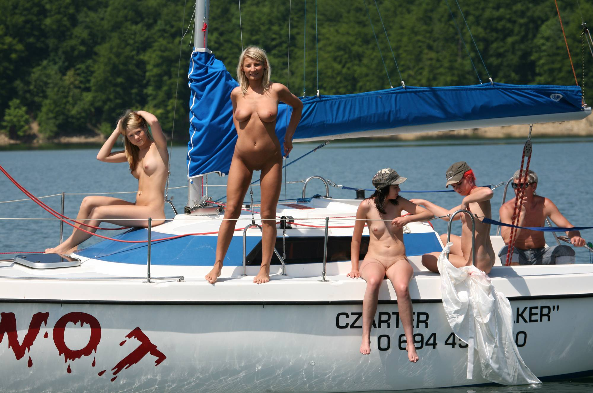 Nudist Gallery Seaworthy Piwot Yacht - 2