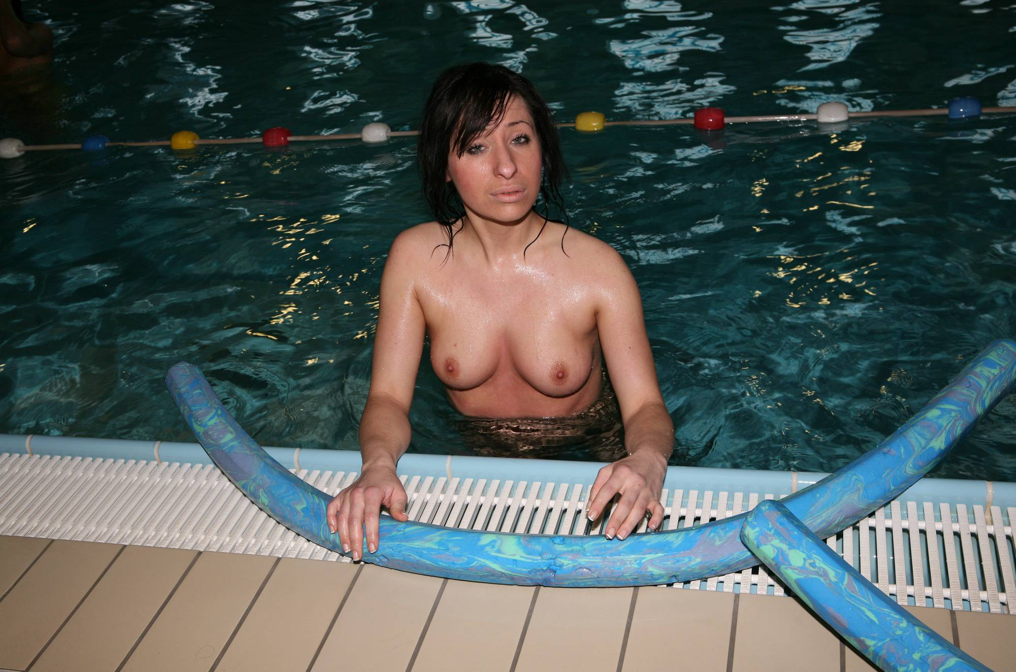 Nudist Pics Swimming Time Noodle - 1