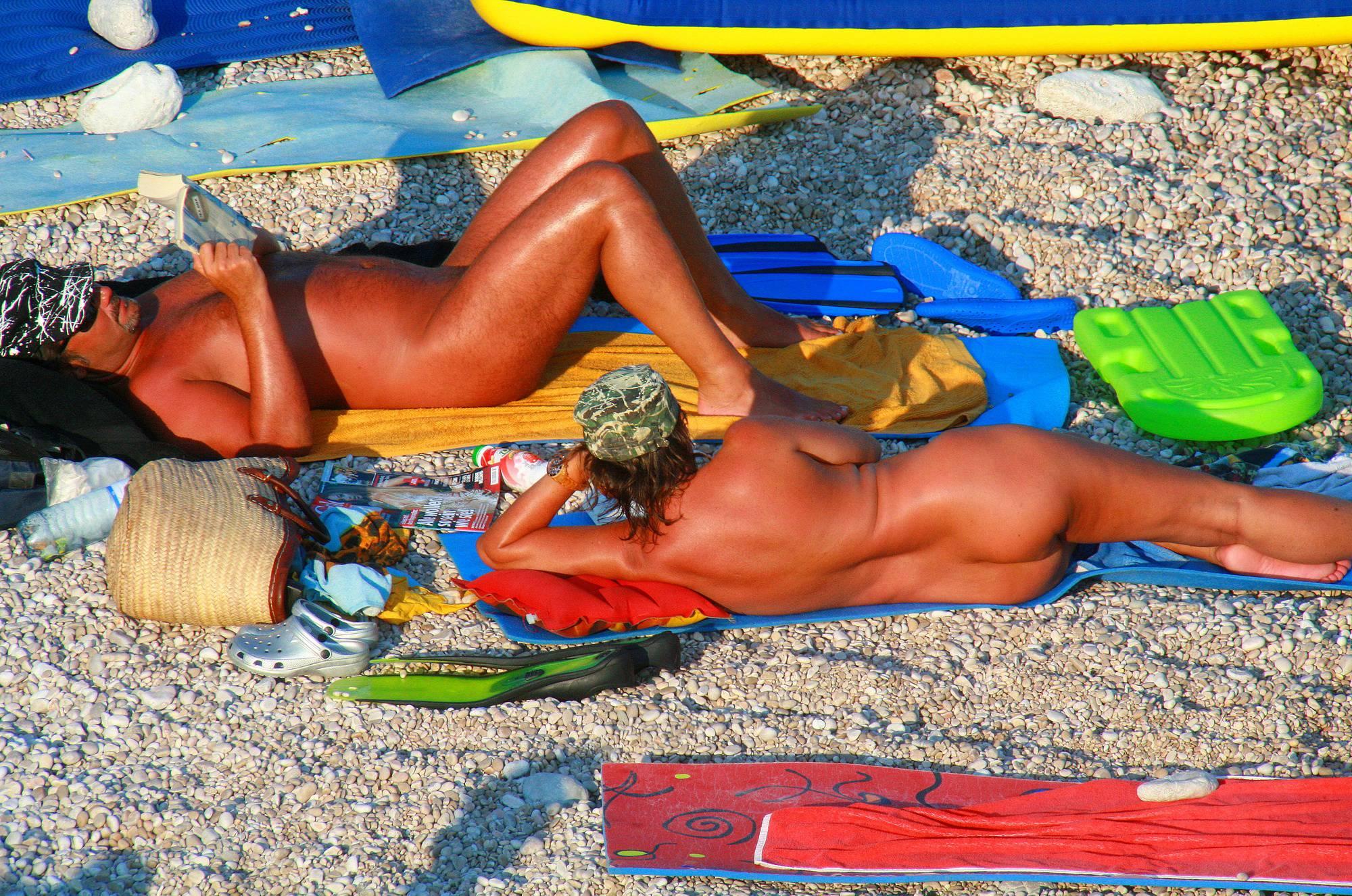 Nudist Pictures Ula FKK Beach Camping - 1
