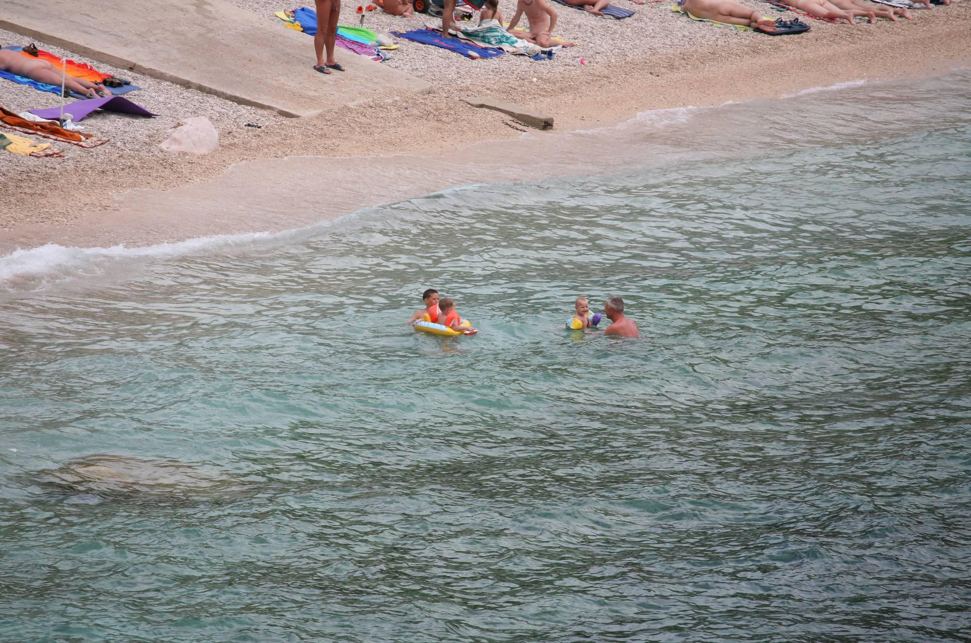 Nudist Photos Wide Maslin Beach View - 2