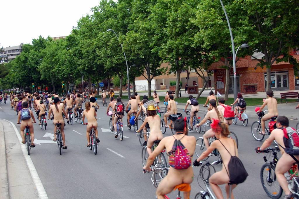 World Naked Bike Ride (WNBR) 2009 - 2