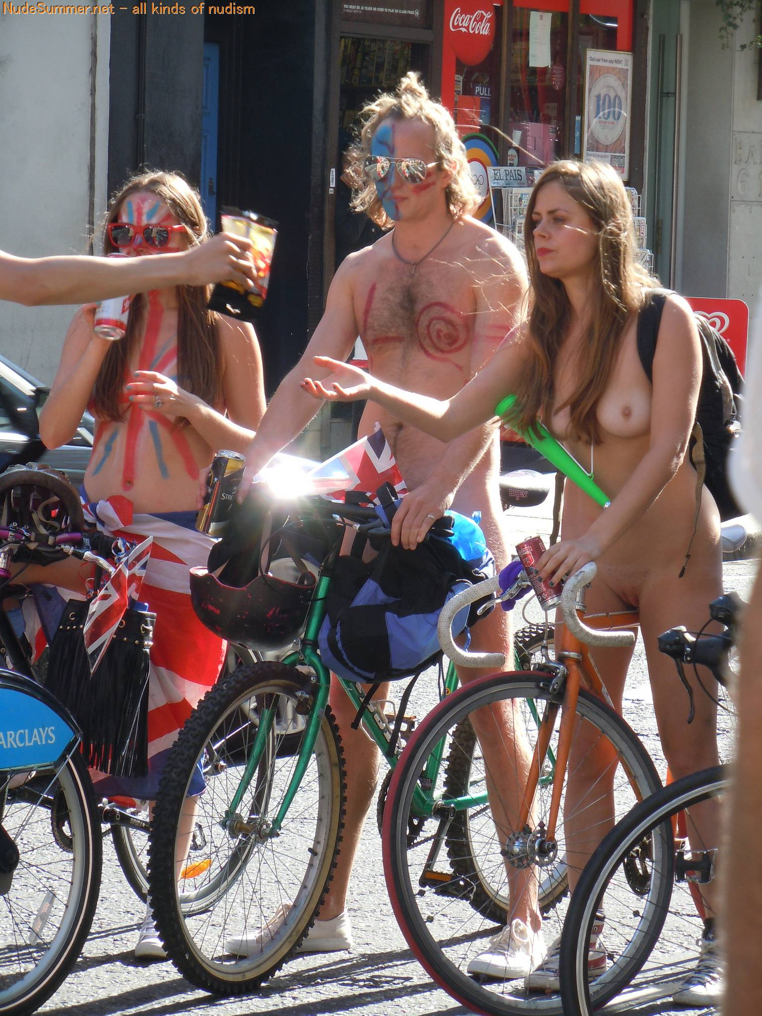World Naked Bike Ride (WNBR) 2012 Part 1 - 1
