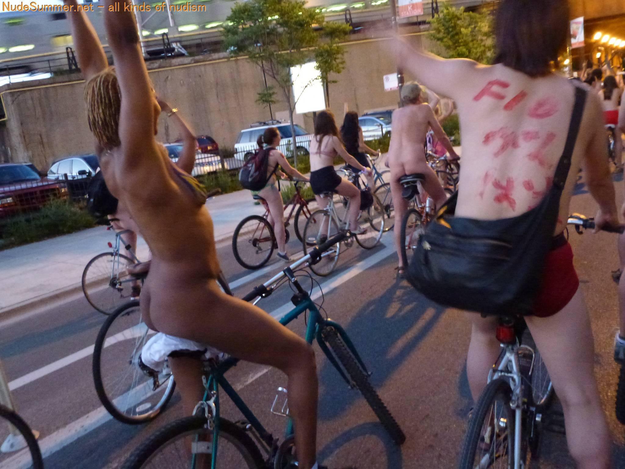 Nudist Photos World Naked Bike Ride (WNBR) 2012 Part 1 - 2