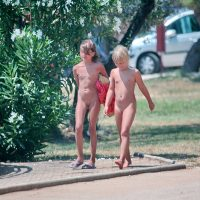Nudist Family and Friends - 1