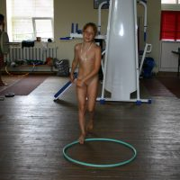 Nudist Pictures Family Gym Hooly Hoops - 1