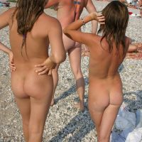 Nudist Photos Sunny Side Body Painting - 1